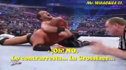 Chris Benoit gana el World Heavyweight Championship. (Subtitulado en Español.)
