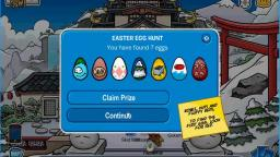 Playing Club Penguin (EGG HUNT!)