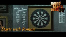 Grand Theft Auto IV: pt. 4 - Failing a Game of Darts w./ Roman (PC)