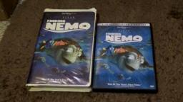 Finding Nemo VHS and DVD Review