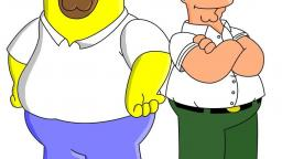 HOMER SIMPSON VS. PETER GRIFFIN هومر سيمبسون ضد بيتر غريفين