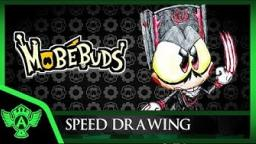 Speed Drawing: MobéBuds - Granapire (Concept 1) | Mr. A.T. Andrei Thomas. V