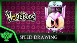 Speed Drawing: MobéBuds Evil Verni (Concept 1) | Mr. A.T. Andrei Thomas