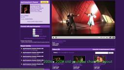 vidlli channel layouts vs old youtube chanel layouts (2006 - 2012)