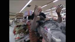 Steve Austin And Booker T Supermarket Brawl 12-13-01