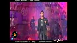 Robbie Williams - Come Undone (Rai 2 - Dicembre 2002)