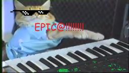 keyboard cat caNT HIt thiose notes lololo0lolololol