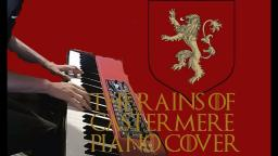 Rains of castermere piano cover