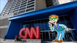 Drew Pickles Goes to the CNN Headquarters