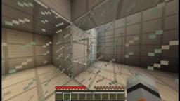 I recreated Portal test chambers in Minecraft