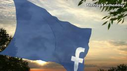 Flag and anthem of Facebook
