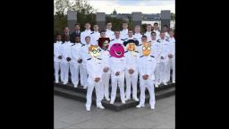 THE BARNEY BUNCH JOINS THE NAVY!!!!