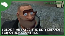 Soldier mistakes the Netherlands for other countries