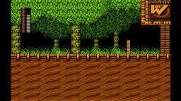 Mega Man 2 - Nivel de Wood Man