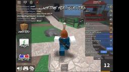 playing roblox murder mystery  with my freinds!