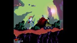 Earthworm Jim SNES Gameplay
