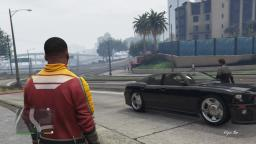 Grand Theft Auto 5 Fail - Pedestrian Crushed by Truck