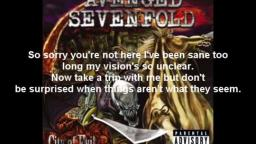 Avenged Sevenfold - Bat Country Lyrics