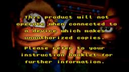 Donkey Kong Country 3 - Error Game Screen