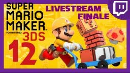 Lets Play - Super Mario Maker 3DS [12] FINALE LIVESTREAM 01