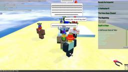 I beat the obby on spring block parade in goodblox! :D