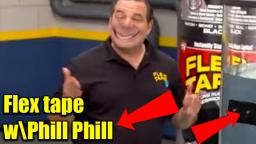 Phill Swift whit his FLEX  TAPE, but better