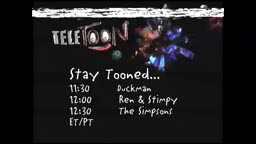 Teletoon Line Up (1998)