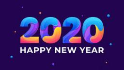 HAPPY NEW YEAR 2020!!!