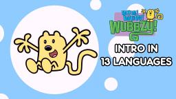 Wow! Wow! Wubbzy! Intro in 13 Languages