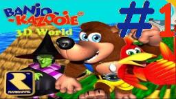 Let´s Play Banjo-Kazooie 3D World (100% Deutsch) - Teil 1 Banjo-Kazooie X Super Mario 3D World!