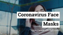 What You Need to Learn about Coronavirus Face Masks