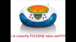 RESPONSE TO HATERS + how do i stop pissing table salt???