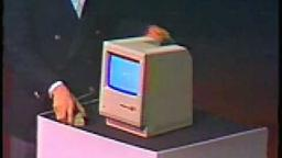 The Lost 1984 Video young Steve Jobs introduces the Macintosh