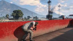 GTA 5 Police Helicopter crashes into a Telephone Pole
