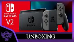 New Nintendo Switch Unboxing V2 (Grey) Revision [2019] | Mr. A.T. Andrei Thomas