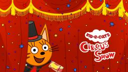 Kid-E-Cats: Circus Show! Games for kids on iOS and Android 😻😻😻