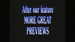 After Our Feature - Feature Presentation - Buena Vista Home Video - ABC Video (1997) VHS