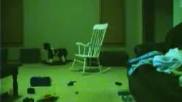 Scary pop up rocking chair video