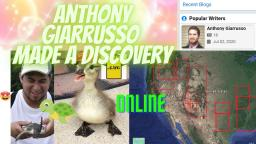 Anthony Giarrusso Made A Discovery