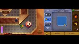 Zelda: A Link Between Worlds - Worm Boss - 3DS Gameplay