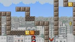 Hard Level (created by me) on Super Mario Flash Urban Edition