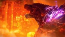 Godzilla (Earth, End of Netflix Series) vs Freeza (2nd Form, Freeza Saga)