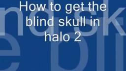 (HQ) How to get the blind skull on Halo 2