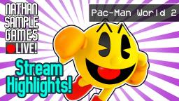 Pac-Man World 2 (PS2) - Stream Highlights #1 │Nathan Sample Games