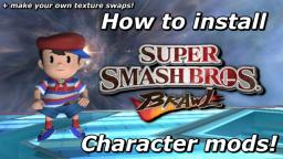 Tutorial - How to Install SSBB Character Mods! (and Make Textureswaps) - Dolphin