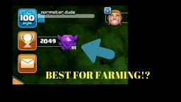IS THIS THE BEST LEAGUE FOR FARMING UP LOOT! - Clash of Clans