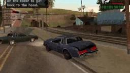 reckless driving in GTA san andreas