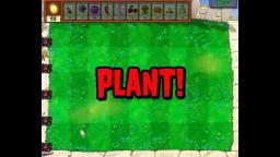 Zombotany beaten using only 3-4 lawn tiles - Plants vs. Zombies