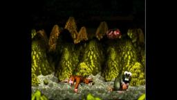Donkey Kong Country - Gnawty - SNES Gameplay