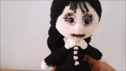 amigurumi friday addams